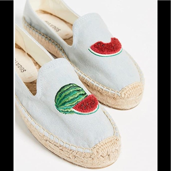 Soludos Shoes - SOLUDOS WATERMELON ESPADRILLE LOAFERS